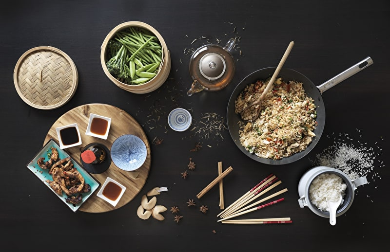 Judge Tastes of the World - Chinese meal