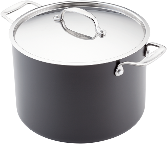 Stellar Hard Anodised  Stockpot, Non-Stick