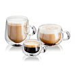 Judge Double Walled Glassware  Latte Glass Set,