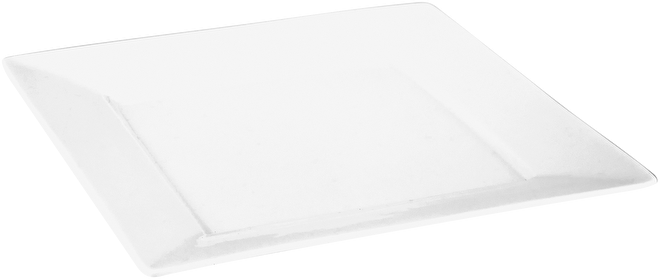 Judge Table Essentials  Square Side Plate,