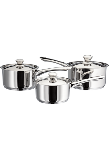 Judge Platina, 3 Piece Saucepan Set
