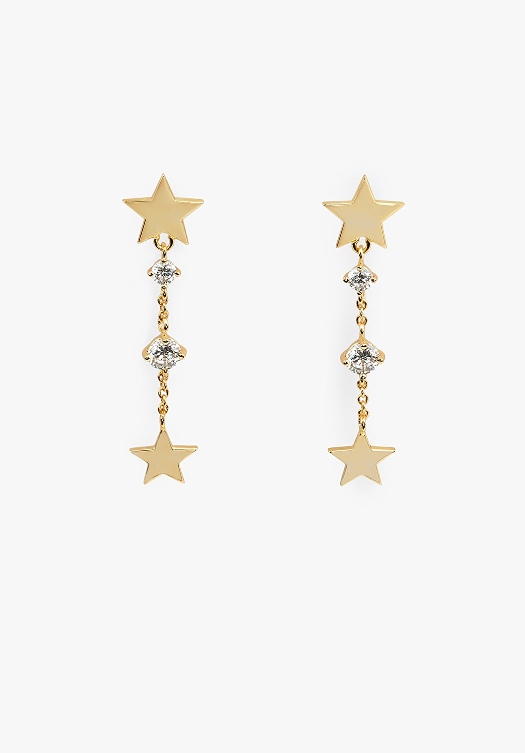 Star Drop Earrings | hush