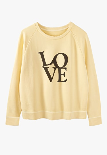 Washed Love Sweat Top