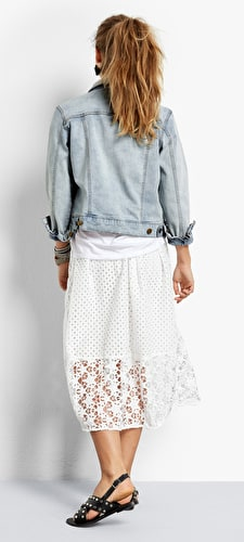 Kempton Lace Skirt
