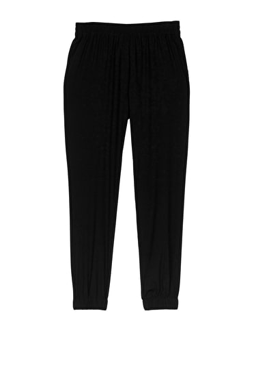 Stretch Silk Trousers