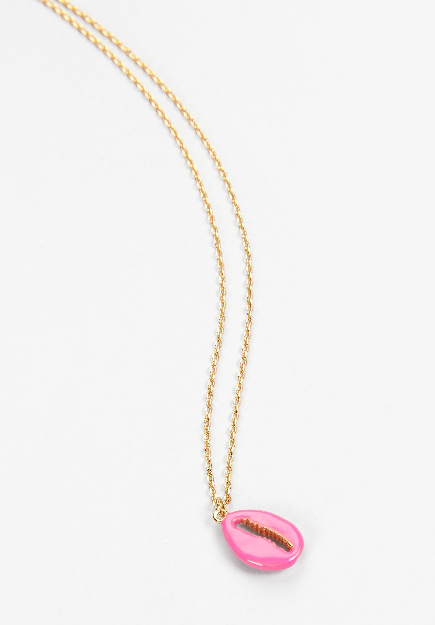 pendant heart chain gold necklace