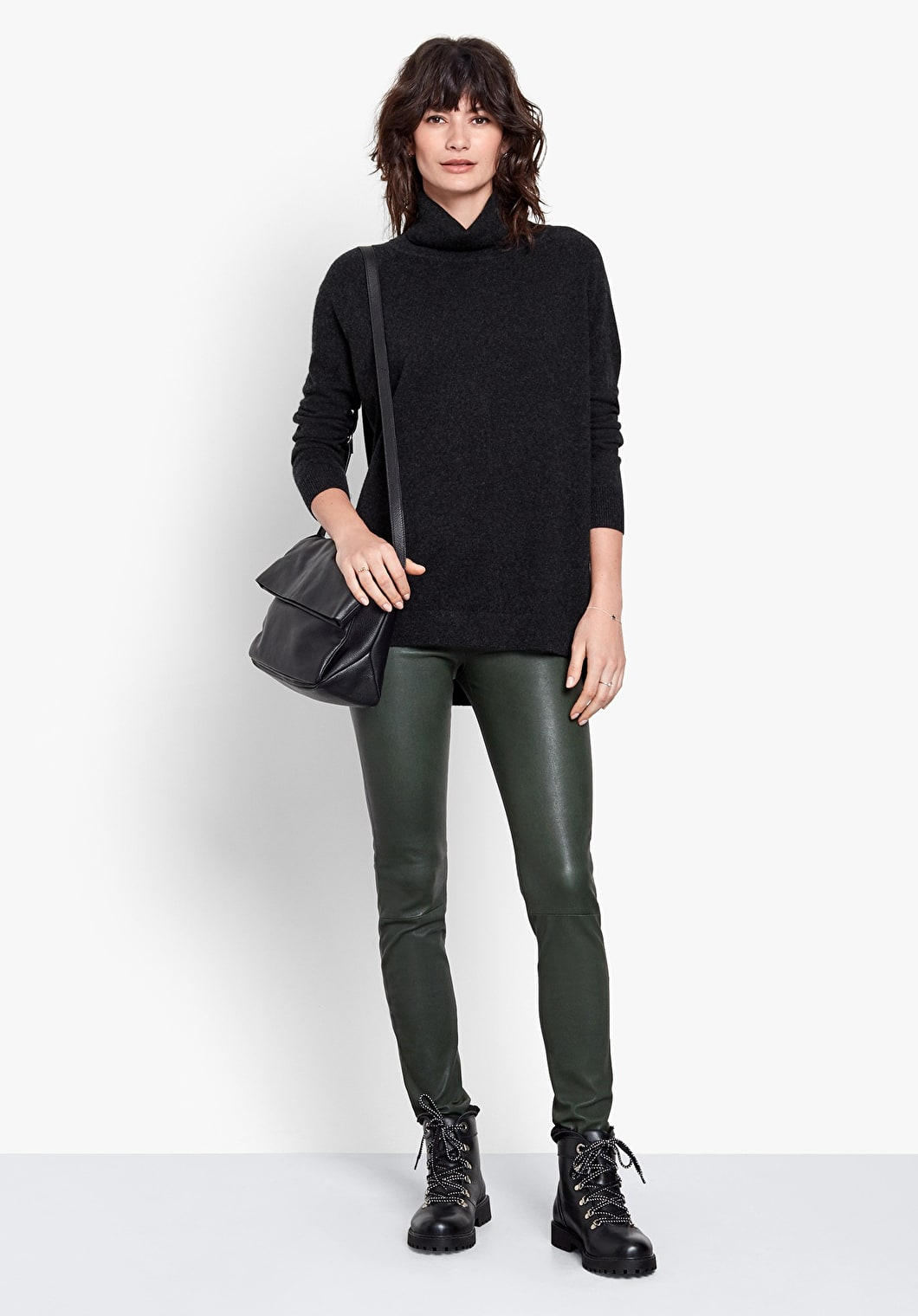 Cashmere Roll Neck Jumper | hush