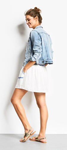 Shelly Embroidered Skirt
