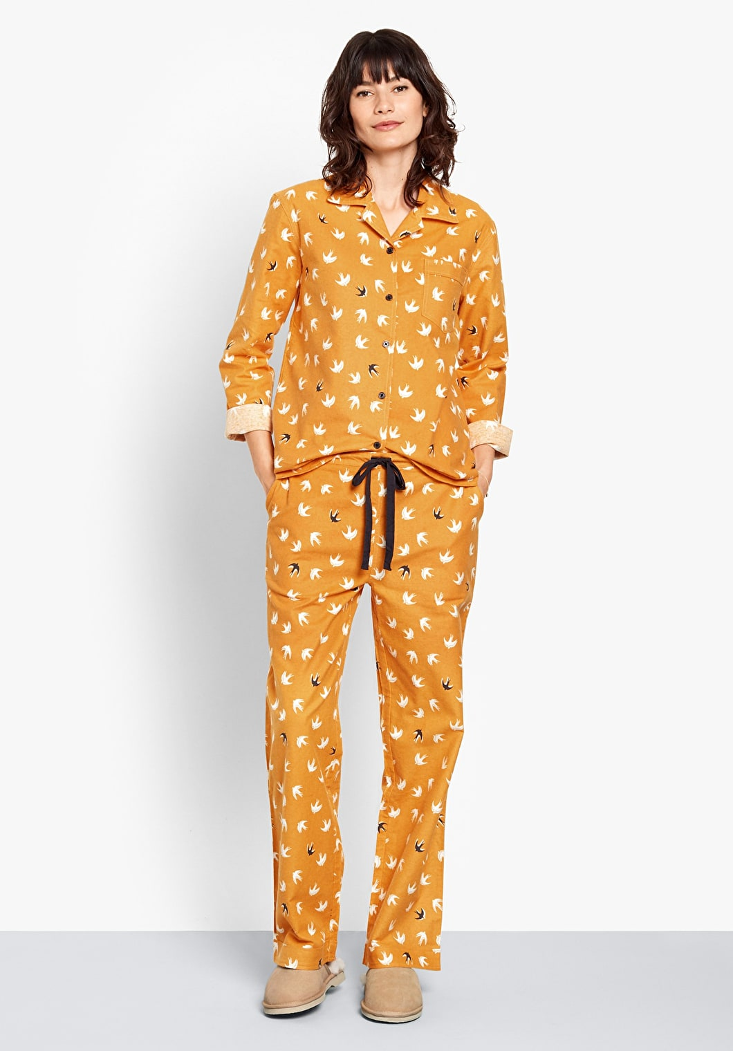 Bird Flannel Pyjamas | hush