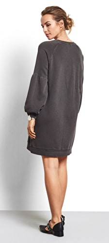 Puff Sleeve Sweat Tunic