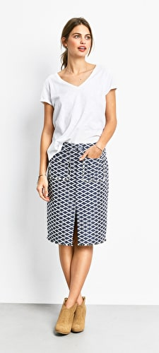 Andalusia Pencil Skirt