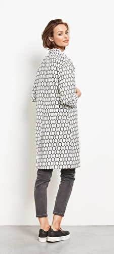 Becca Printed Duster Coat