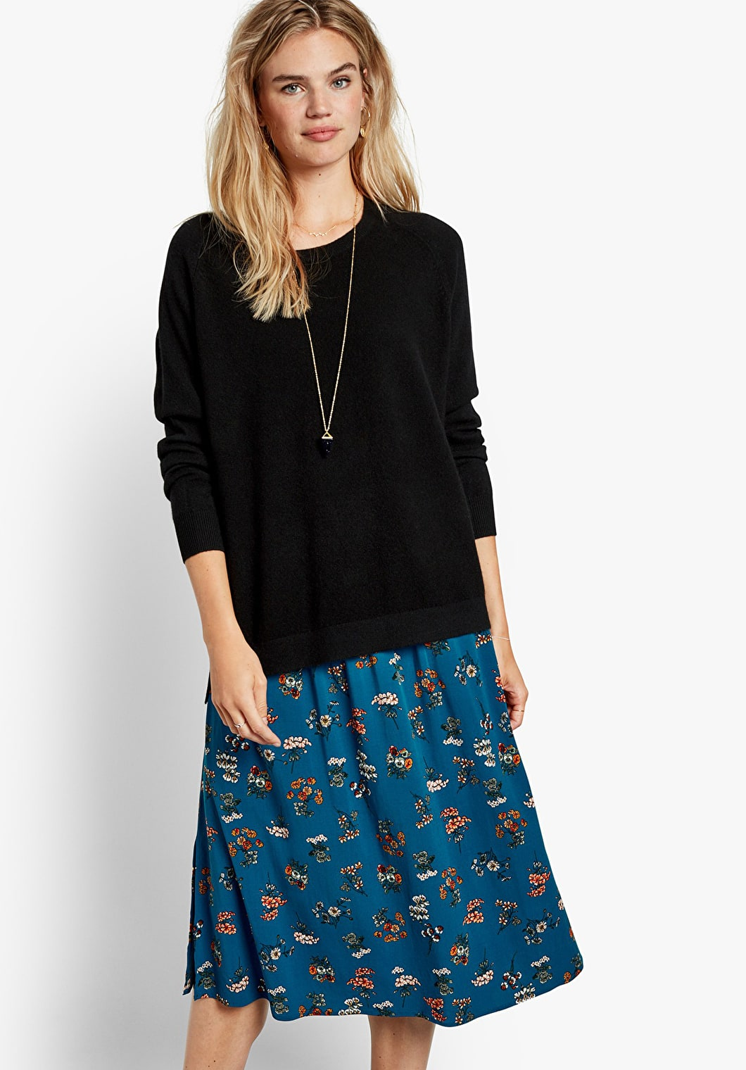 Lisel Printed Skirt | hush
