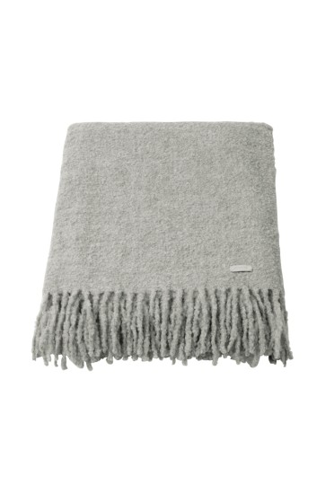 Alpaka Plaid Boucle Throw