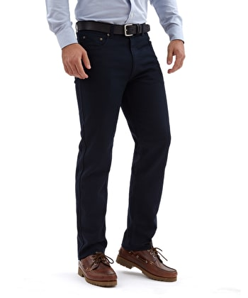 Twill Jeans - Navy
