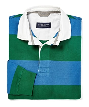 Rugby Shirt - Blue/Green