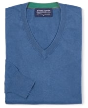 Cotton/Cashmere - V Neck