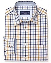 York Shirt - Blue/Gold