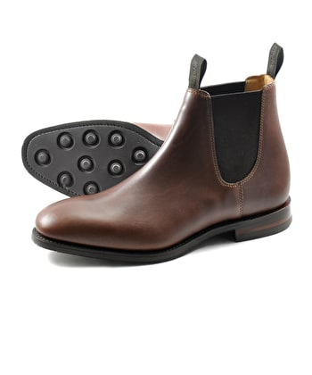 Chatsworth Boot - Brown Waxy Leather