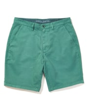 Cotton Twill Shorts - Flat Front