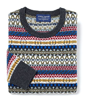 Fair Isle Jumper - Multicolour