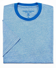 Cotton T-Shirt - Blue Mix