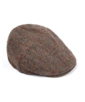 Flat Cap - Green/Brown