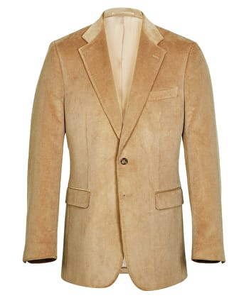 Malton Needlecord Jacket - Dark Sand