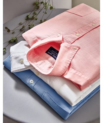 Staithes Button-Down Shirt - Pink