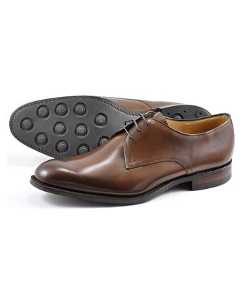 Gable Plain Tie Shoe - Brown