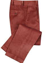 Corduroy Trousers - Soft Red