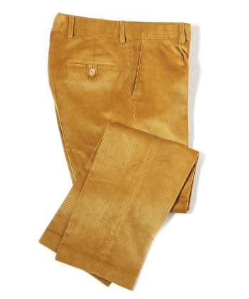 Corduroy Trousers - Straw