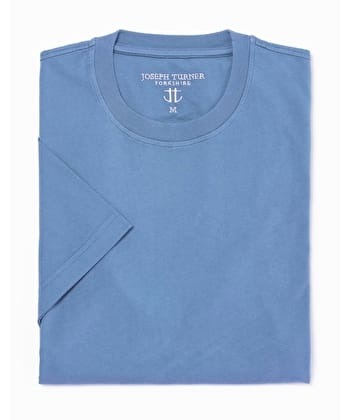 Cotton T-Shirt - Blue