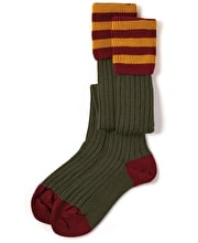 Contrast Top Country Socks
