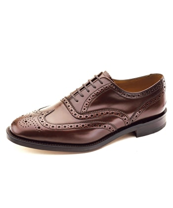 Full Brogue Shoe - Brown