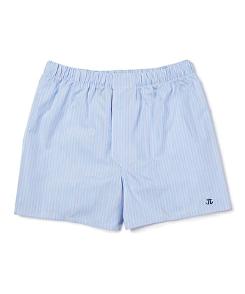Boxer Shorts - Blue/Pink Stripe
