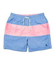 Swimming Trunks - Blue/Pink Stripe
