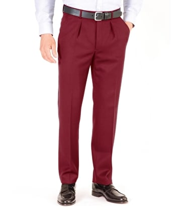 Cavalry Twill Trousers - Burgundy
