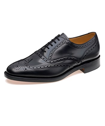 Full Brogue Shoe - Black
