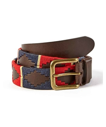 Polo Belt - Red/Navy