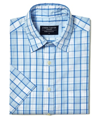 Weekend Shirt - Short Sleeve - Blue/Sky