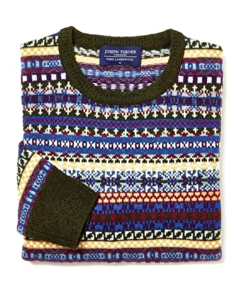 Men's Fair Isle & Nordic Jumpers | The Guardian Reader Offer
