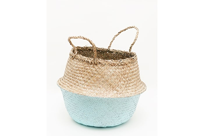 Mint Dipped Belly Basket