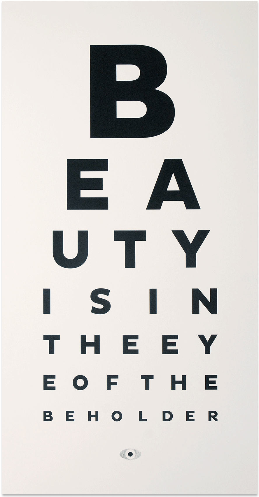 Trust image inside printable eye charts