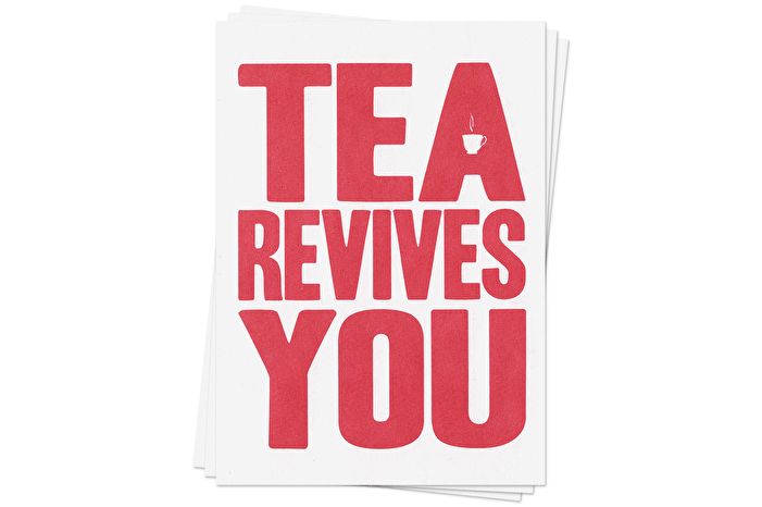 Tea Revives You - Postcards