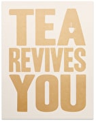Tea Revives You - Gold