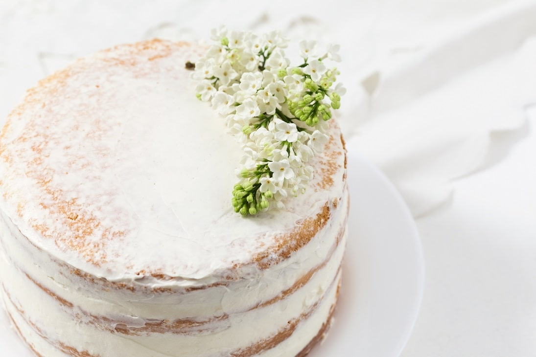 Royal Elderflower & Lemon Cake