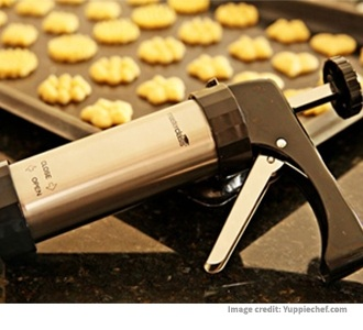 Making Biscuits Using The Biscuit Press