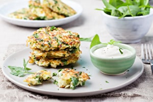 Cool Courgette Frittas