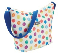 KitchenCraft Spot Print 5 Litre Cross Body Cool Bag